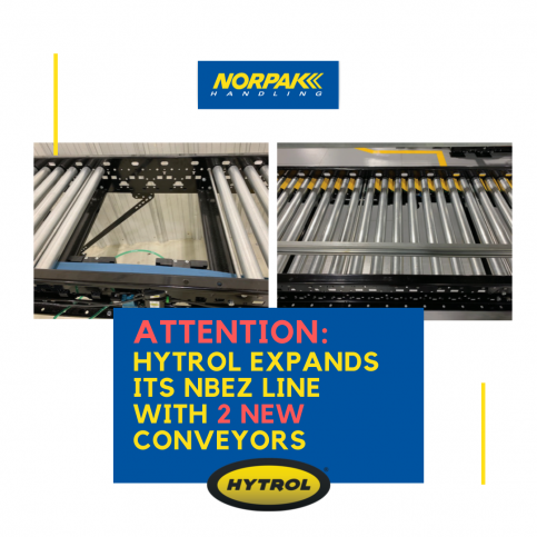 Attention: Hytrol Expands Its NBEZ Line with 2 New Conveyors