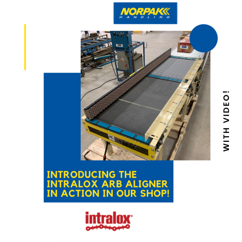 Introducing the Intralox ARB Aligner In Action In Our Shop!