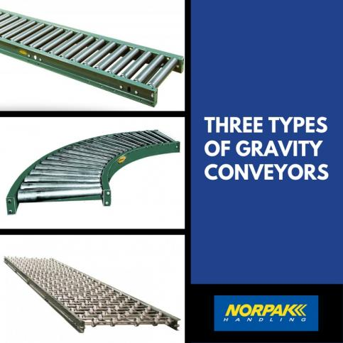 Three Types of Gravity Conveyors