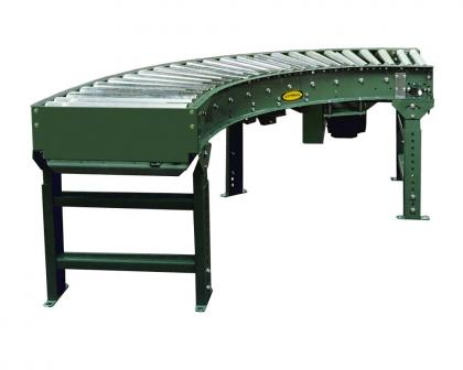 V-Belt Driven Curve Medium Duty Accumulating Conveyor - 190-LRC