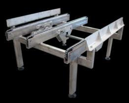 Chain Conveyors and Chain Transfers- Stainless Steel and Washdown Duty
